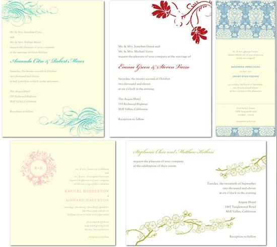 Beautiful William Arthur Letterpress Wedding Invitations from Wedding Paper Divas