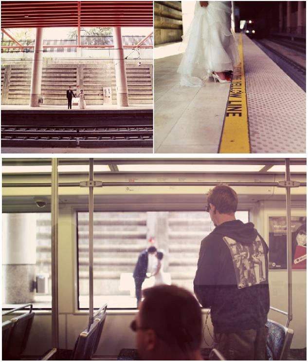 Groom-bride-hold-hands-at-train-station-kiss-outside.original