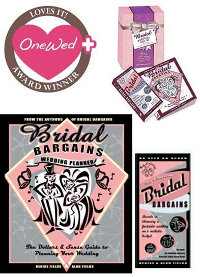 Plan an amazing wedding without breaking the bank with the Bridal Bargains gift set!