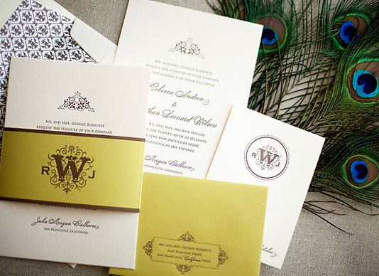 Outdoor wedding invitation ideas