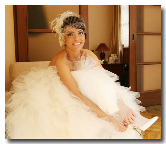photo of Singing the praises of birdcage bridal veils