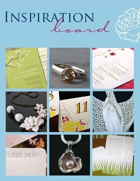 Go green with fair trade gemstones, letterpress wedding invitations printed on recycled cotton, and