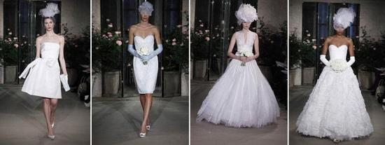 photo of Bride Chic: Bridal Fashion Couture Report- New York Spring 2010