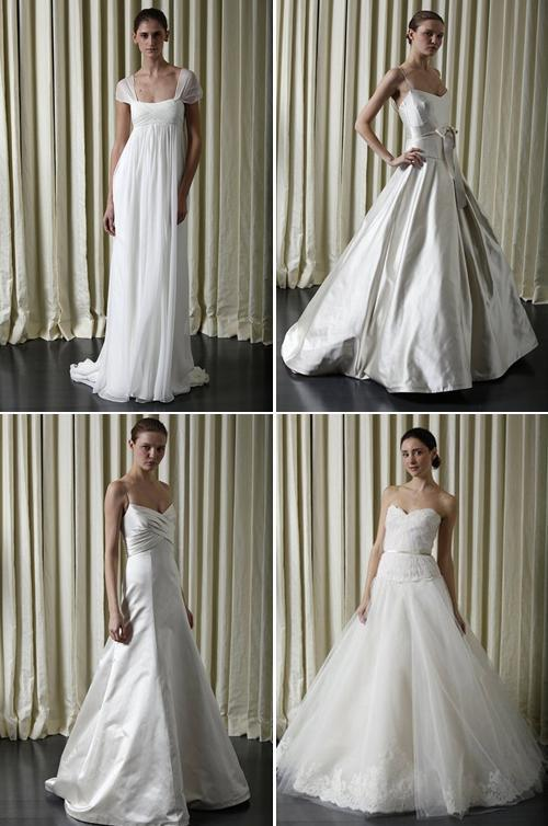 Monique Lhuillier- Spring 2010 bridal collection- truly classic wedding dresses