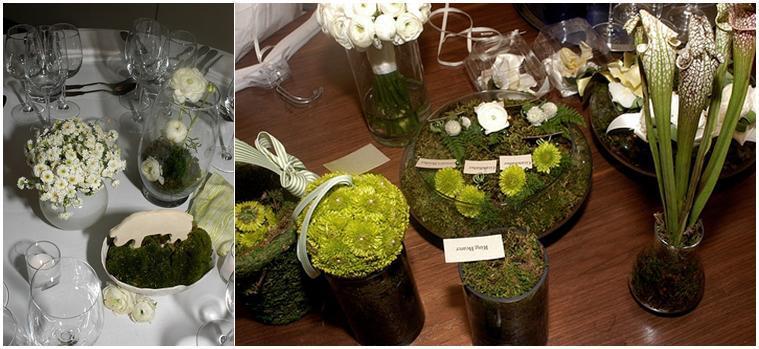 Green-and-white-outdoor-wedding-white-roses-hurricane-vases-greenery.full