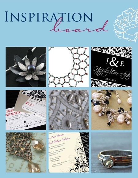 Gorgeous Metal and Lace jewelry, invitations, keepsakes and more for your wedding day