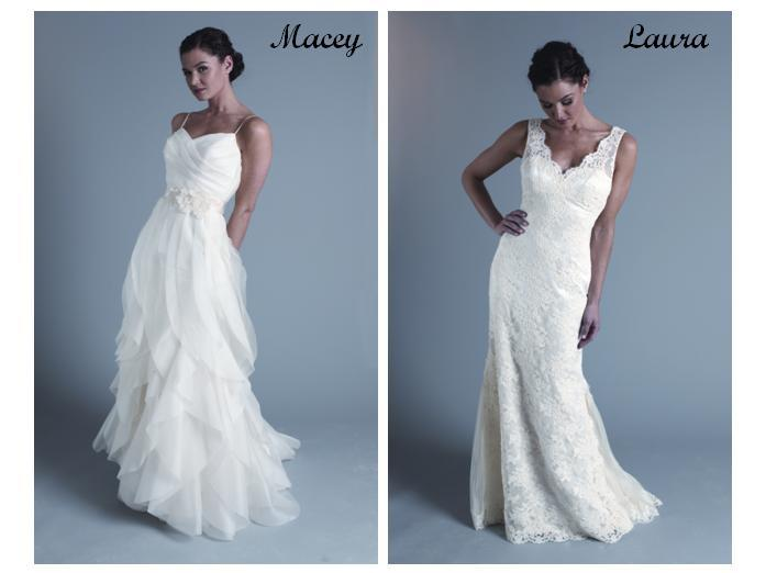 modern trouseau white wedding dresses lace