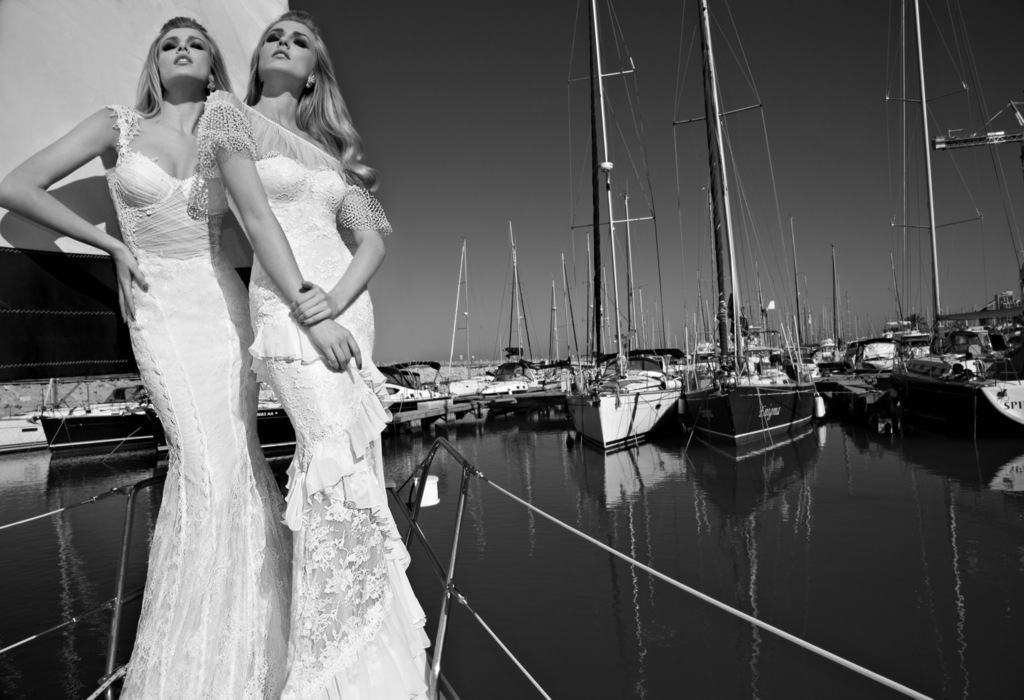 2013 Wedding Dress Galia Lahav Bridal lace mermaids