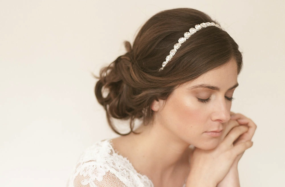 Simple-wedding-updo-with-rhinestone-headband.full