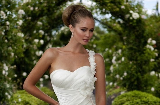 photo of Silky Smooth Wedding Updos