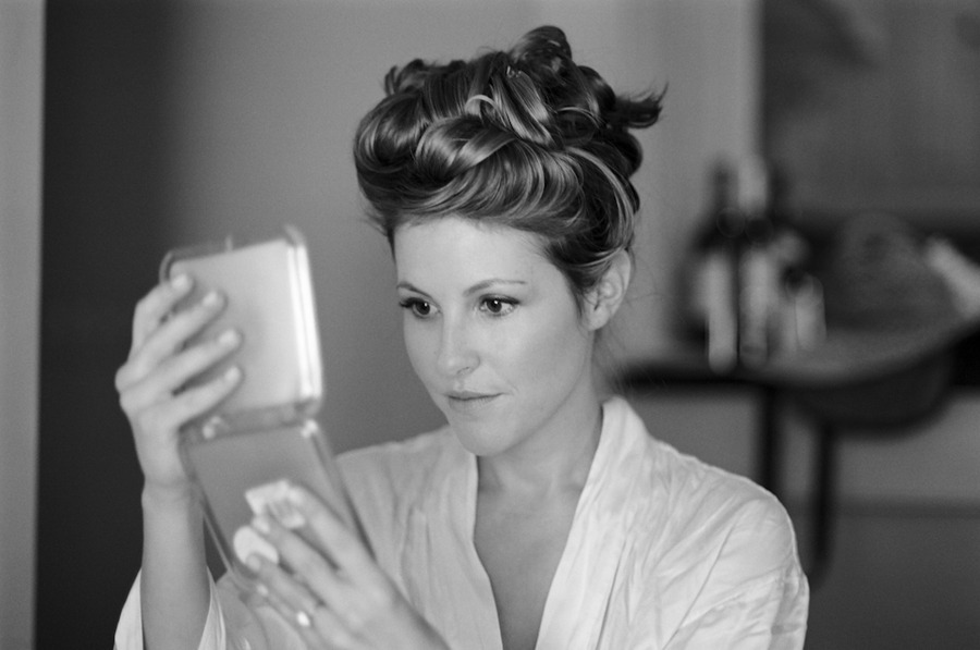 Silky-waves-piled-high-atop-the-head-wedding-hairstyle.full