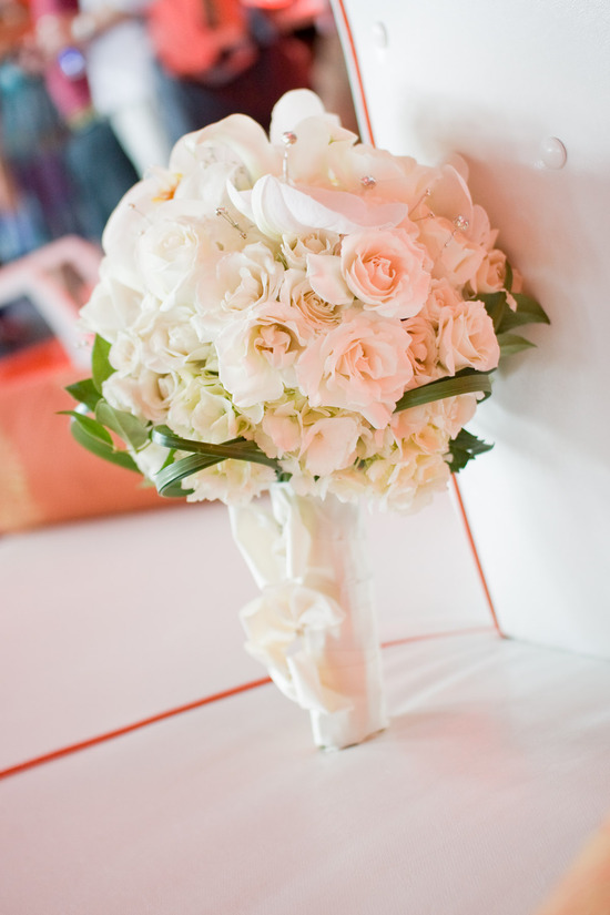 Keren Yoseph Blush Wedding Flowers