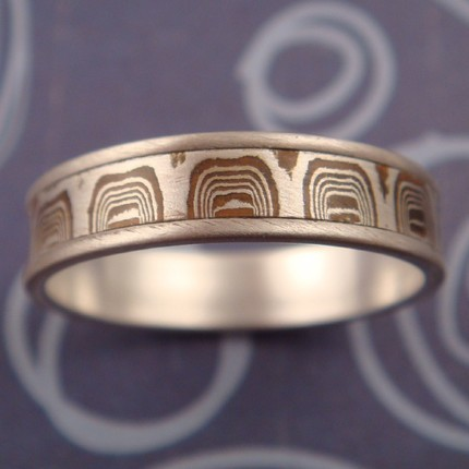 photo of Raindrop Wedding Ring