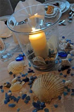 beachweddingcenterpieceideas