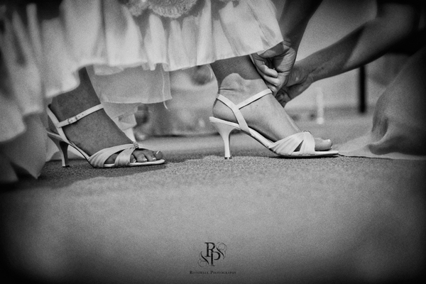 Bridal shoes: The last touch
