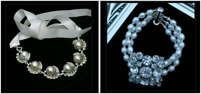 Bel-canto-designs-vintage-jewelry-pearl-n-rhinestone-bracelet-ribbon-clasp.full