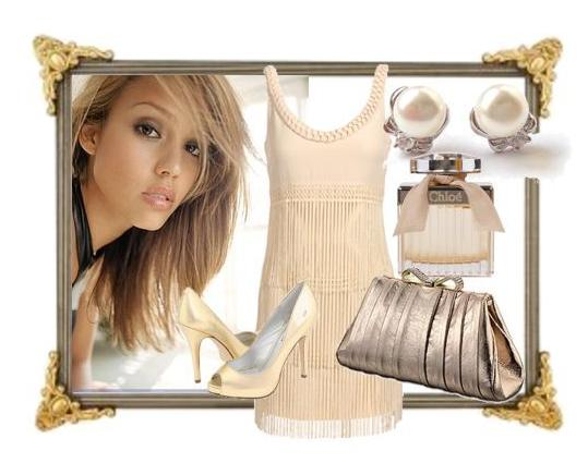 Ivory-evening-out-cream-blush-dress-champagne-clutch-chloe.original