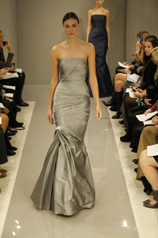 2013 Monique Lhuillier Bridesmaid Dresses 1