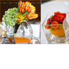 Mints-designs-orange-yellow-green-citrus-wedding-clear-vases-sand.square