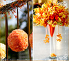 Mints-design-citrus-meringue-cupcakes-wedding-theme-hanging-orange-floral-ball-yellow.square
