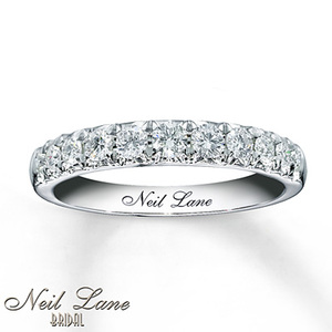 photo of Kay Jewelers Diamond Anniversary Band 1/2 ct tw Round-cut 14K White Gold- Women's Anniversary