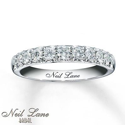 Kay Jewelers Diamond Anniversary Band 1/2 ct tw Round-cut 14K White Gold- Women's Anniversary