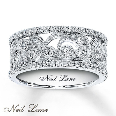 photo of Kay Jewelers Diamond Ring 3/4 ct tw Round-cut  14K White Gold- Ladies' Diamond Fashion