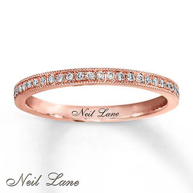 photo of Kay Jewelers Diamond Ring 1/6 ct tw Round-cut 14K Rose Gold- Ladies' Diamond Fashion