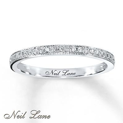 photo of Kay Jewelers Diamond Ring 1/6 ct tw Round-cut 14K White Gold- Ladies' Diamond Fashion
