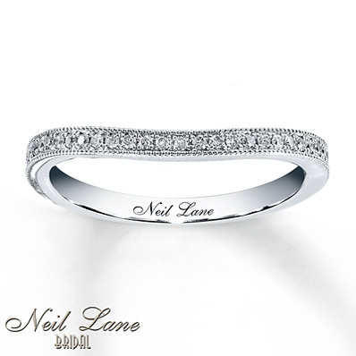 photo of Kay Jewelers Diamond Wedding Band 1/8 ct tw Round-cut 14K White Gold- Wedding & Anniversary