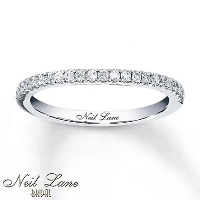 photo of Kay Jewelers Diamond Wedding Band 1/5 ct tw Round-cut 14K White Gold- Wedding Bands