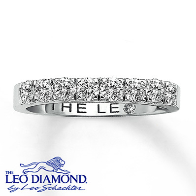 photo of Kay Jewelers Diamond Band 1 1/2 ct tw Round-Cut 14K White Gold- Rings