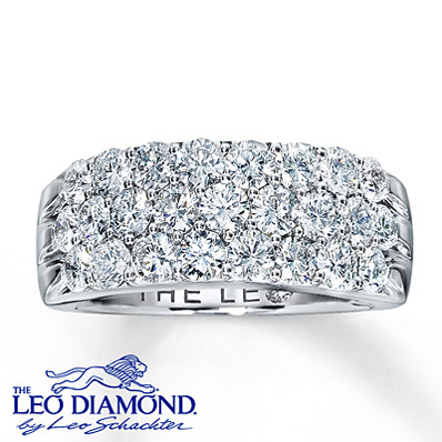 photo of Kay Jewelers Diamond Anniversary Band 2 ct tw Round-Cut  14K White Gold- Rings