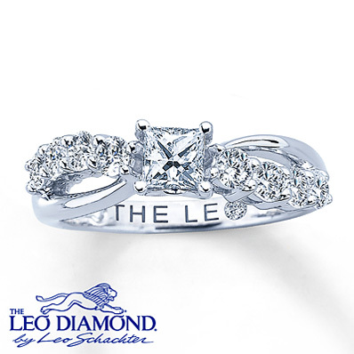 baaaaca03 Kay Jewelers Diamond Engagement Ring 1 1/5 ct tw 14K White Gold- Rings