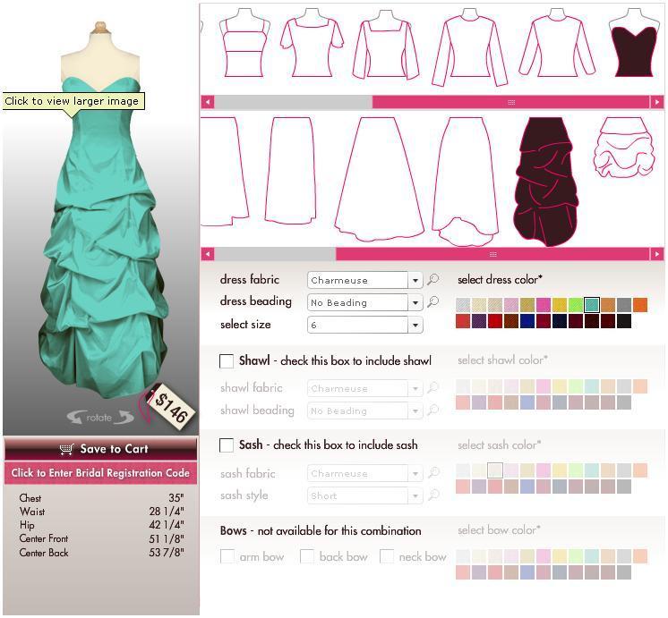 Design Your Bridesmaid Dresses Online