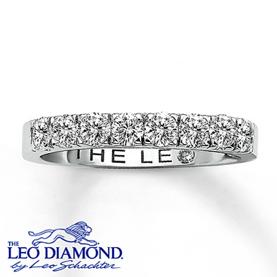 photo of Kay Jewelers Diamond Anniversary Band 3/4 ct tw Round-Cut  14K White Gold- Rings