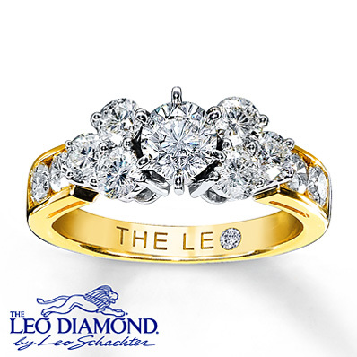 photo of Kay Jewelers Diamond Engagement Ring 1 3/4 ct tw Round-Cut 14K Yellow Gold- Rings