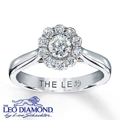 photo of Kay Jewelers Diamond Ring 5/8 ct tw Round-cut  14K White Gold- Rings