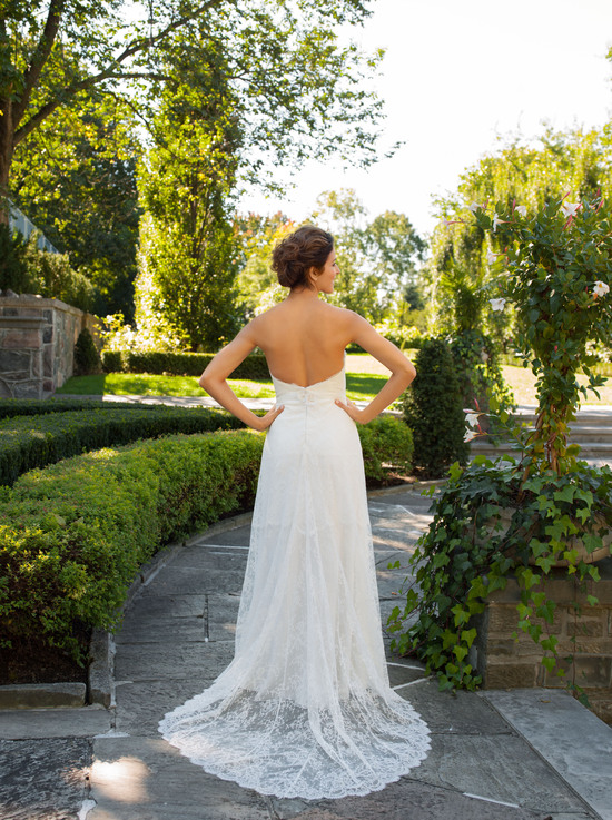 Constance Wedding Dress Back