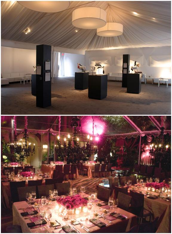 Modern black and white wedding, with art exhibit feel; morrocan purple wedding
