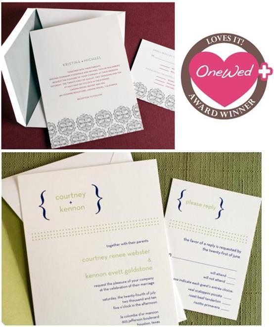 photo of Savvy Steals Weekly Giveaway- Wedding Paper Divas Personalized Wedding Stationery