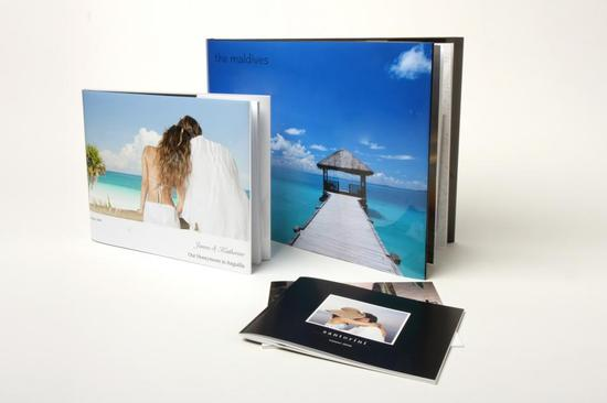 tropical honeymoon photobook