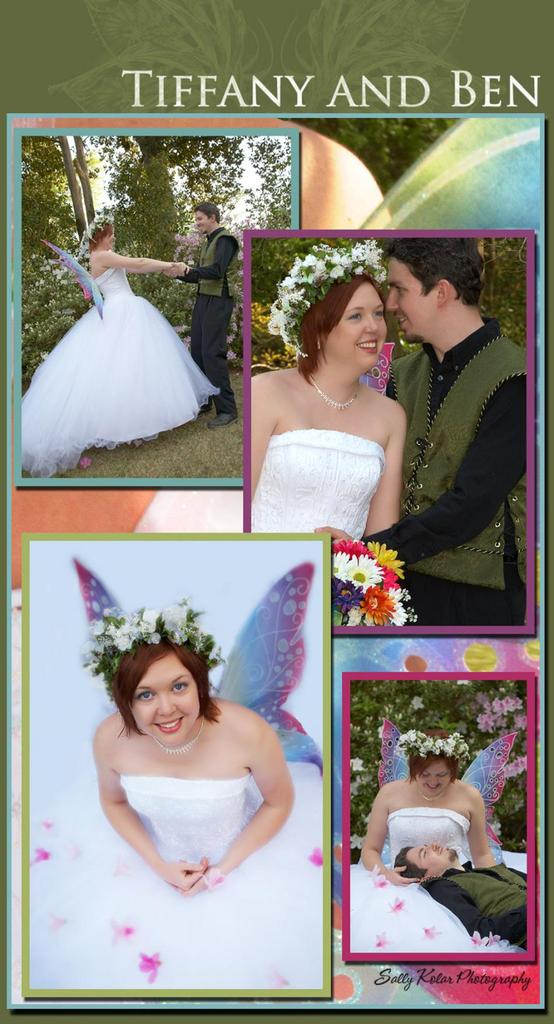 photo of Featured Wedding: Tiffany and Ben