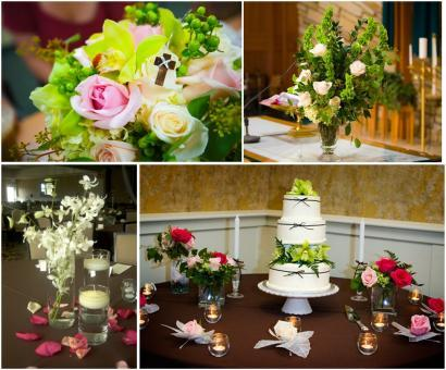 photo of Beautiful Florals for your Timeless Wedding by Petite Fleur
