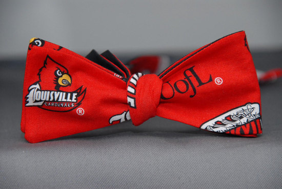U-of-L-Bowtie-for-Sports-Loving-Grooms