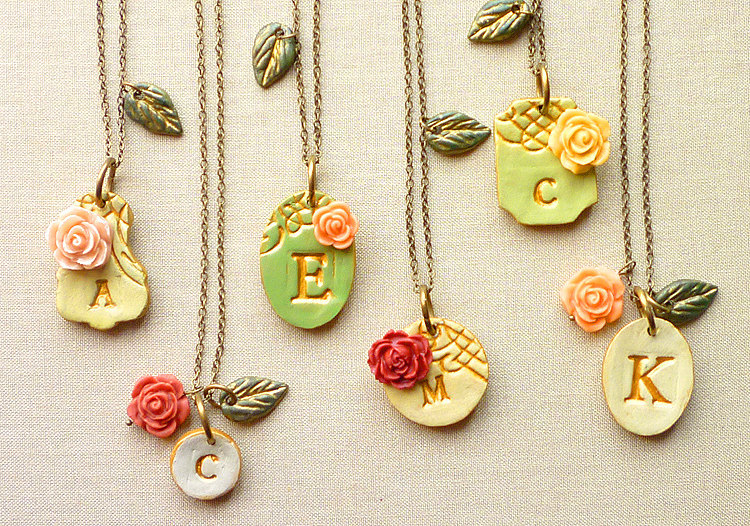 Victorian-garden-initial-necklaces-for-bridesmaids.full