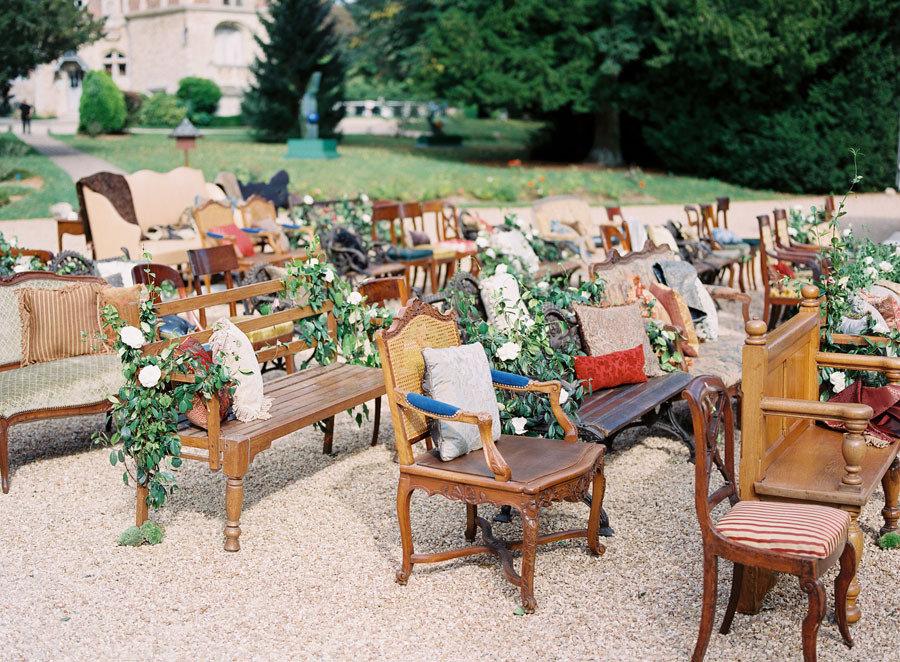 Plenty Of Seating For Outdoor Weddings