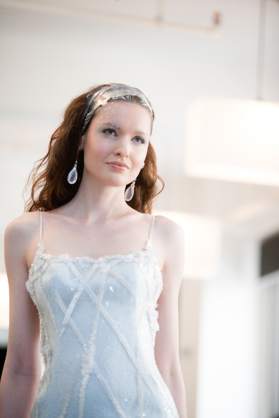 photo of Beautiful Wedding Hair + Makeup Hot Off the Bridal Catwalks