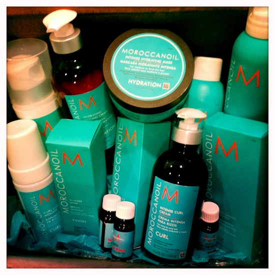 Moroccanoil for the bride to be
