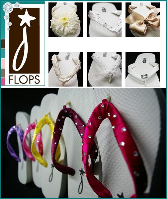 photo of Free Bridal Flip Flops, Anyone?